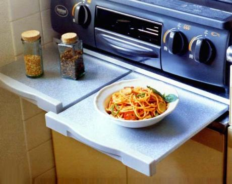 Extended Rack for Gas Stove