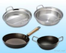 stainless wok